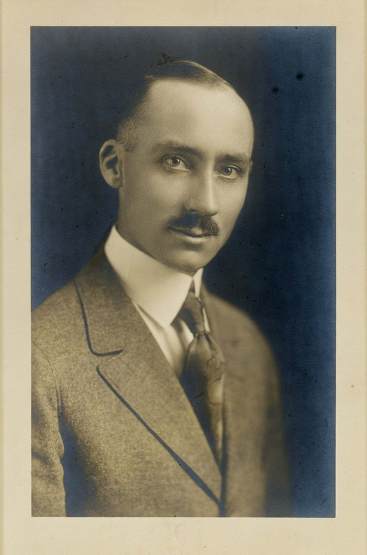 Blomquist as a young man