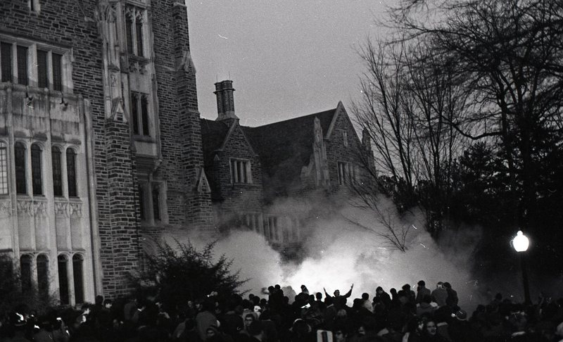 Tear-gas emanating around the Allen Building .jpg