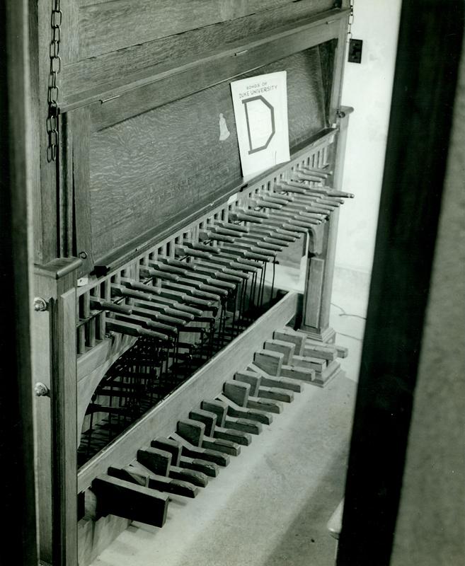 Chapel Carillon; Duke University Archives
