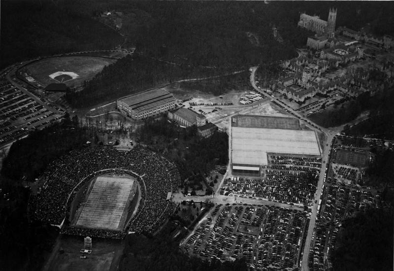 Duke Stadium during 1942 Rose Bowl