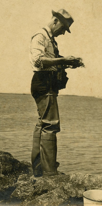 Blomquist in boots