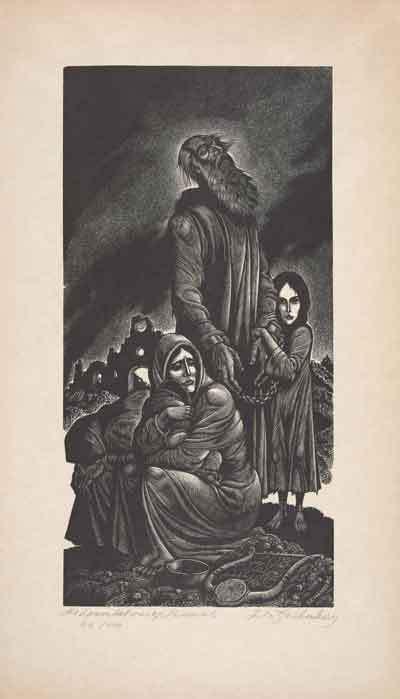 Lamentations of JeremiahBy Fritz Eichenberg