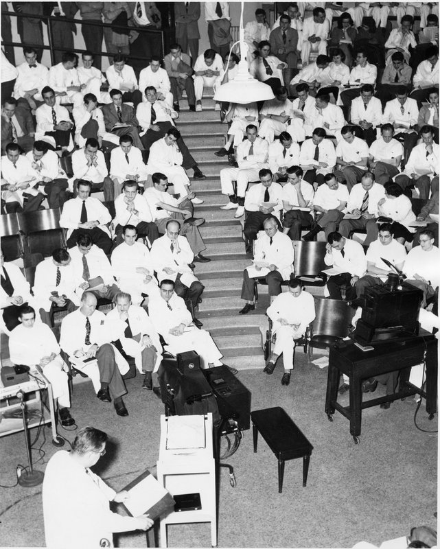 A lecture class from Duke University Medical School
