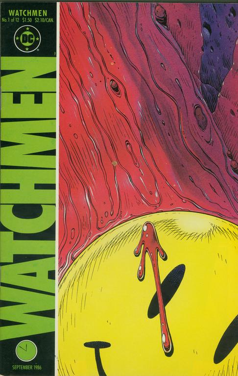 Watchmen no. 1, Sept., 1986