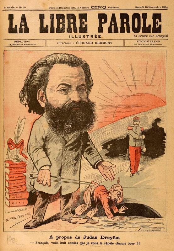 """""""A propos de Judas Dreyfus,"""" (Concerning Judas Dreyfus)"""