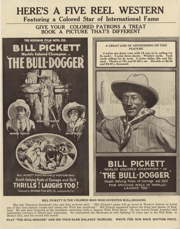 The Bull Dogger, 1921
