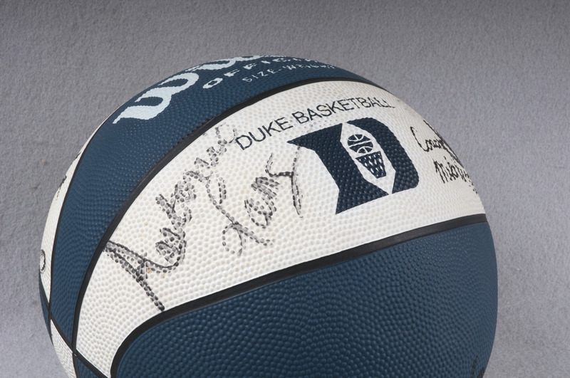 Basketball signed by each member of the 1992 NCAA National Champions men's basketball team.