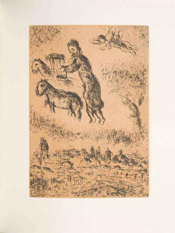 Psaumes de David: eaux-fortes originalesIllustrated by Marc Chagall