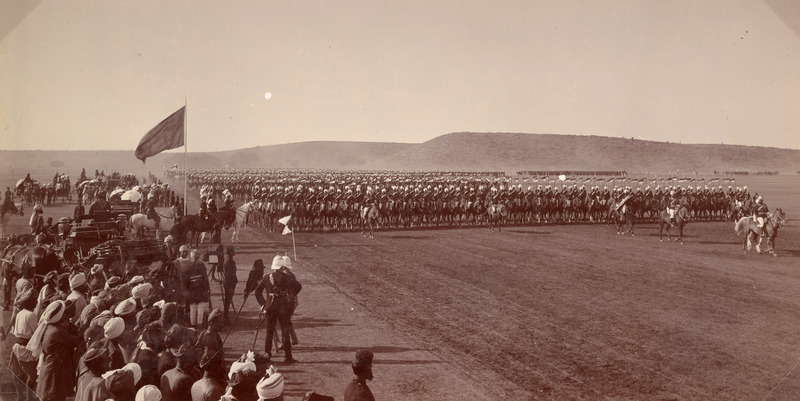 Gwalior lancers, visit of Duke and Duchess of Connaught on visit to Gwalior State<br />