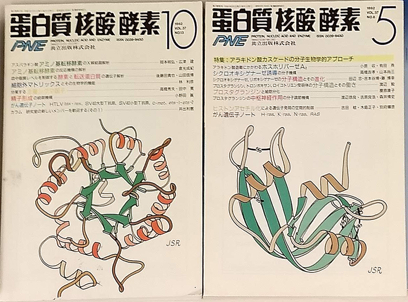 Japanese Journal: Protein, Nucleic Acid and Enzyme, 1992
