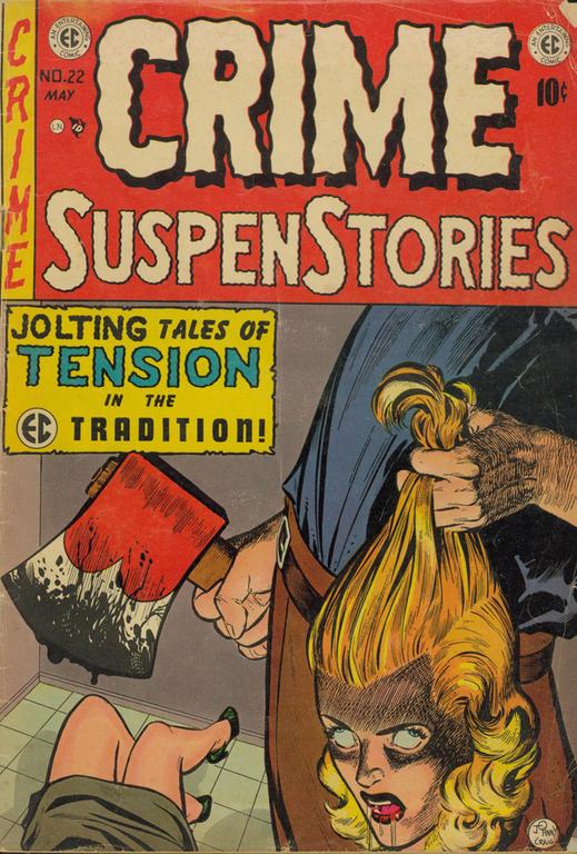 Crime SuspenStories no. 22, April-May, 1954