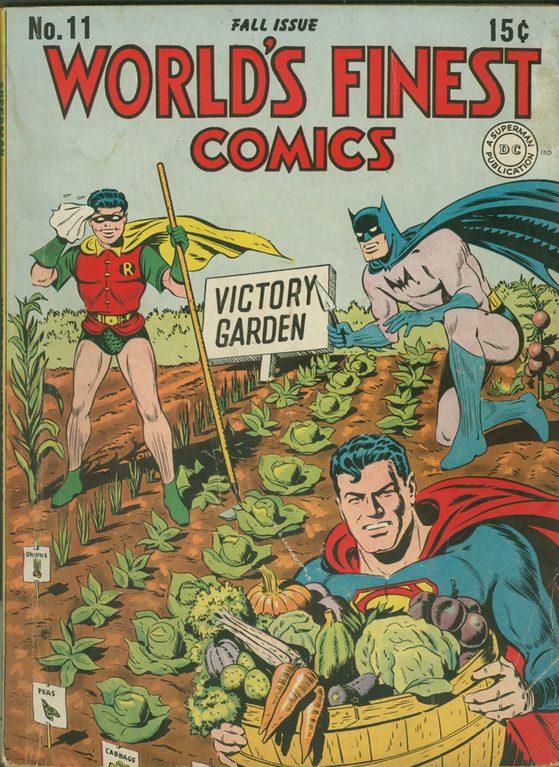 World's Finest Comics no. 11, Autumn 1943
