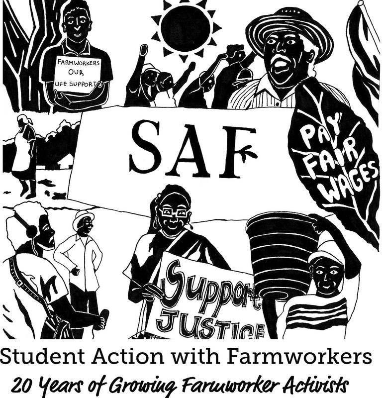 SAF sticker with farmer