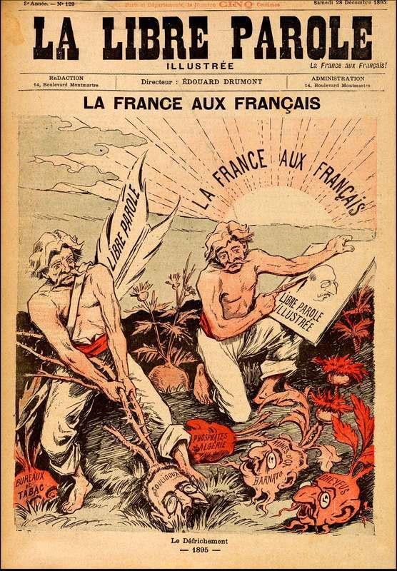 """""""La France aux Français,"""" (France for the French)"""