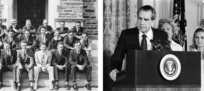 Nixon: then and now.