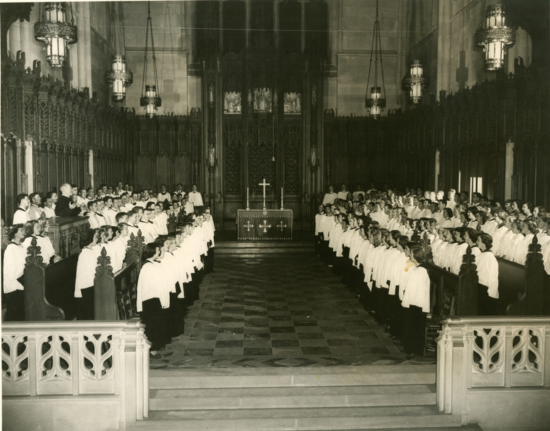 Duke Chapel Choir; Duke University Archive