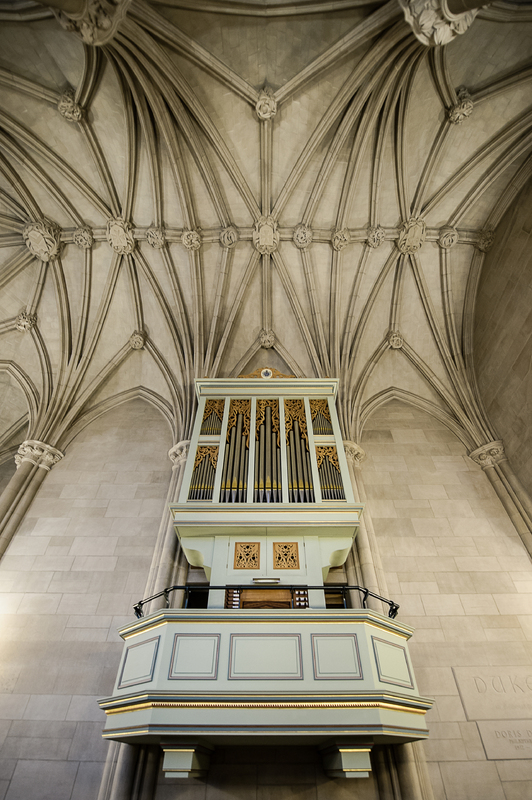 Brombaugh Organ, Memorial Chapel; Brian Mullins Photography