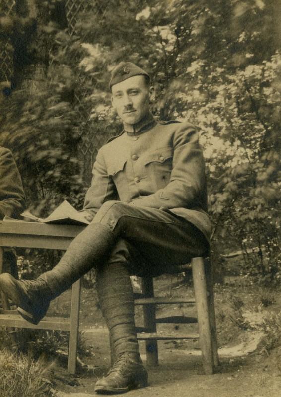 Blomquist in WWI