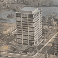 In 1966 N.C. Mutual dedicated its skyscraper headquarters with Vice President Hubert H. Humphrey as the keynote speaker.