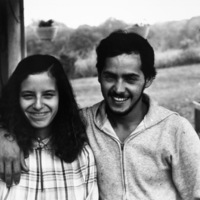 Manuel Molina is a native of Puerto Rico and a permanent worker in a mushroom farm. Hazel Molina is a self-described Hillbilly, Kennett Square, PA 1981