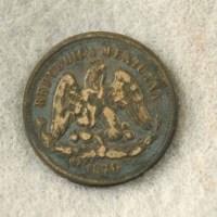 Mexico (back) 1870