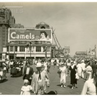 Boardwalk. [Camel billboard], July 4, 1936.<br />