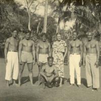 Doris and the Kahanamoku family. She became very close friends with this native Hawaiian family.