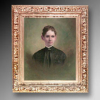 &quot;Mary Duke Lyon, 1896, Oil on canvas, 25&quot;&quot; x 30,&quot;&quot; Artist Unknown<br />