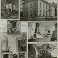 Newspaper page of New York Times regarding J.B. Duke's house, 1914.