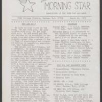 Duke University Archives, Aquaduke Papers, Box #1, 1973-1979