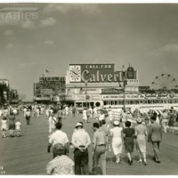 Boardwalk and Free Pier. [Calvert spectacular, day], July 2, 1939.<br />