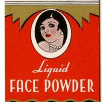 Sweet Georgia Brown Liquid Face Powder label