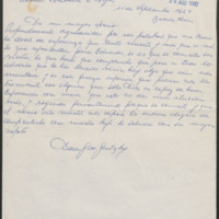 Letter, Aug 20, 1980