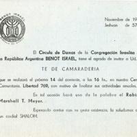 Invitation, 1962