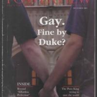 December 2003, Duke University