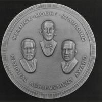 Merrick, Moore, Spaulding National Achievement Award medal