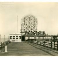 Million Dollar Pier [GE spectacular, daytime], June 14, 1929.<br /> Maxwell No. 2670<br /> ROAD No. XXX1769