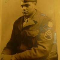 Photograph, Maynard Miller photograph album.<br /> Maynard Miller was an African American staff sergeant with the 3540th and 3524th Quartermaster Truck Company, an African-American company stationed in occupied Japan in 1946.