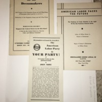 ilgwu: American labor brochures