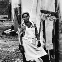 Angelita Irizarry is a migrant agricultural worker, Kennett Square, PA 1981