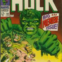 The Incredible Hulk no. 102, April, 1968