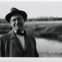 Photograph of William Blackbburn. Reynolds Price papers, David M. Rubenstein Rare Book & Manuscript Library.