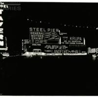 Steel Pier. [General Motors spectacular], July 4, 1948.<br /> Maxwell No. 8623<br /> ROAD No. XXH1372