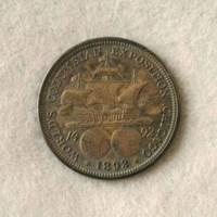 Columbian halfdollar (back) 1893