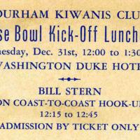 Kick-Off Luncheon Ticket, 2941