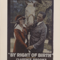 By Right of Birth, 1921