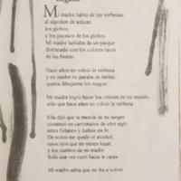 """""""Legado,"""" Poemas Para Entretener al Loco. page 7."""