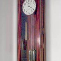 &quot;Grand Master Clock, International Time Recording Company, Division of IBM, Patented 1921<br />