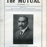 The Mutual Newsletter, featuring John M. Avery, 1923