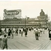 Million Dollar Pier. [Seagam&#039;s spectacular], July 4, 1948.<br /> Maxwell No. 8656<br /> ROAD No. XXH1403